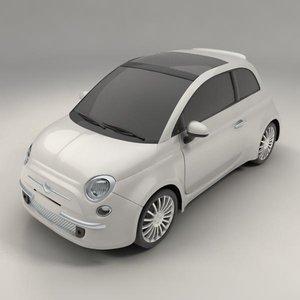 3d model cinquecento