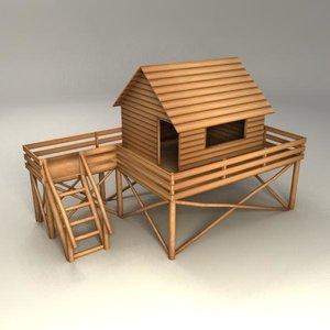 playhouse 3d model