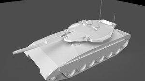 merkava tank 3d ma
