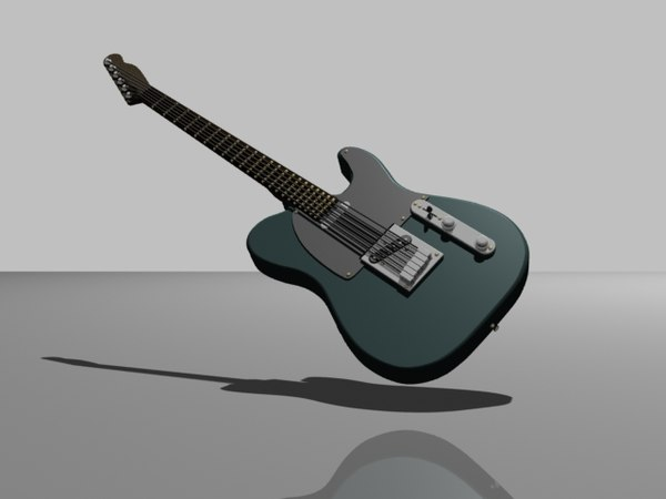 telecaster 3d model