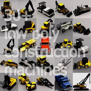 3ds construction machines