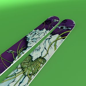skis 3d 3ds
