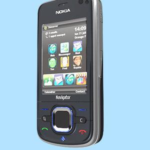 nokia navigator 3d model