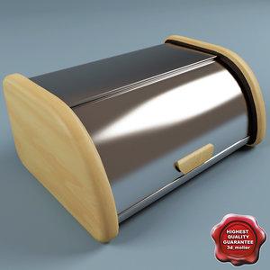 bread box 3d model