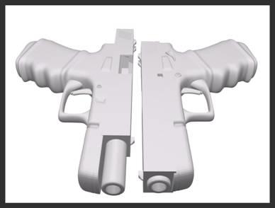 free glock 9mm 3d model