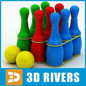 kids bowling set 3ds