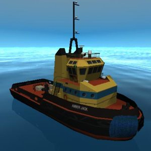 tugboat amber smith 3d model