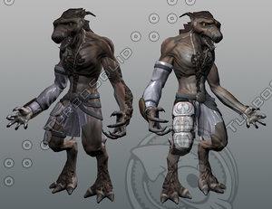 werewolf modeled ma