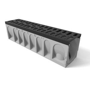 aco drain 100 3d model