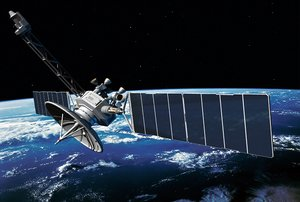 tactical satellite communications 3d model