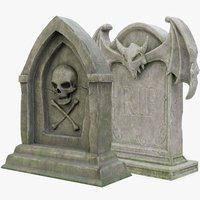 Halloween Gravestone Collection