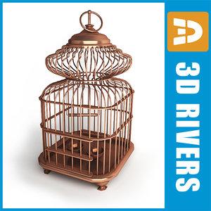 maya retro birds cage