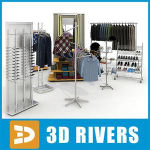 3d large clothes model