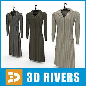 3ds max ladies coats set