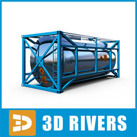 container transport ship 3d 3ds