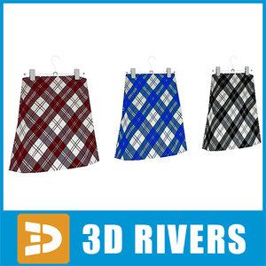 3d skirts set
