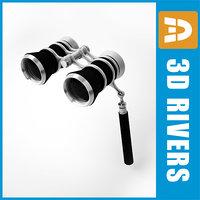 3ds max theater glasses holder binoculars