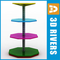 spinning display cabinet max free