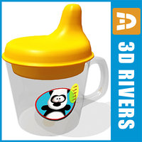 sippy cup obj