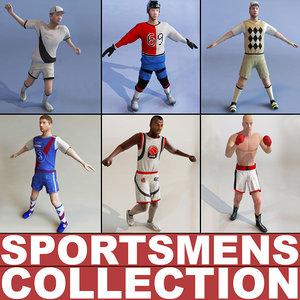 sportsmens games modelled 3d model