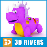 toy dragon 3d model