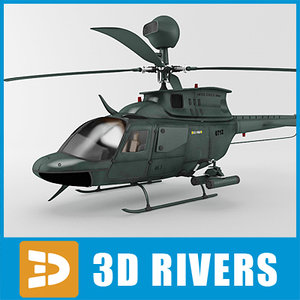 oh-58d helicopter kiowa warrior max
