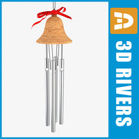 3dsmax chinese wind bell