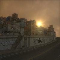 3d slum house building model