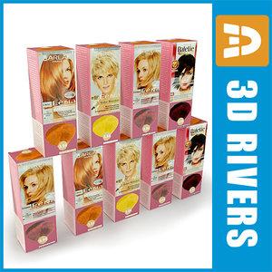 3ds hair dye