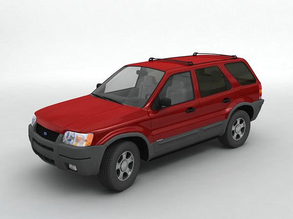 2003 escape suv 3D model