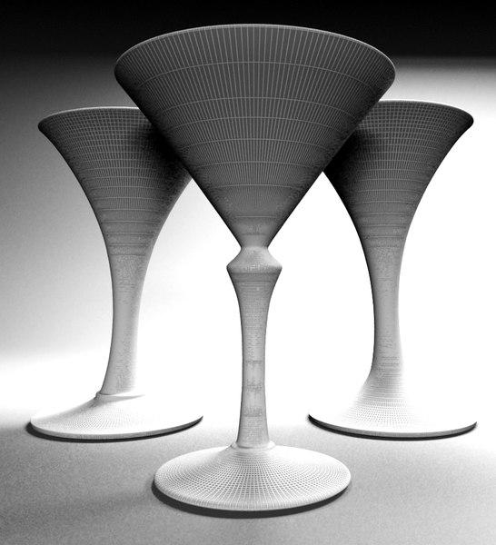 max hand-made martini glasses genuine