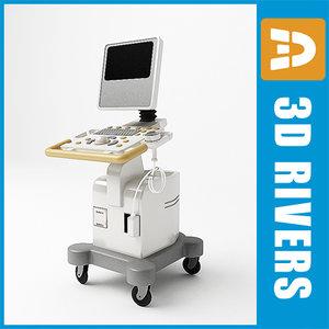 3d model ultrasound scanner