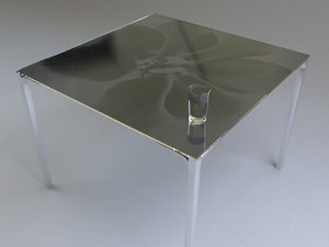 moroso blackstone table 3d model