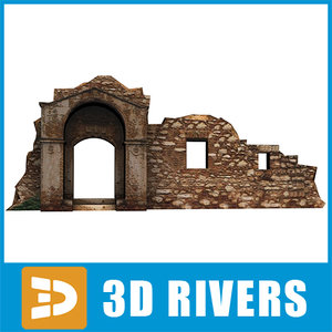 gate ruined building max