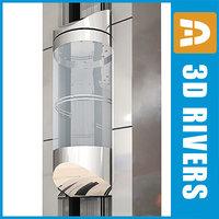 glass panoramic elevator max