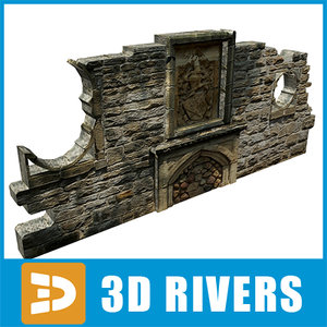3d model wall relief