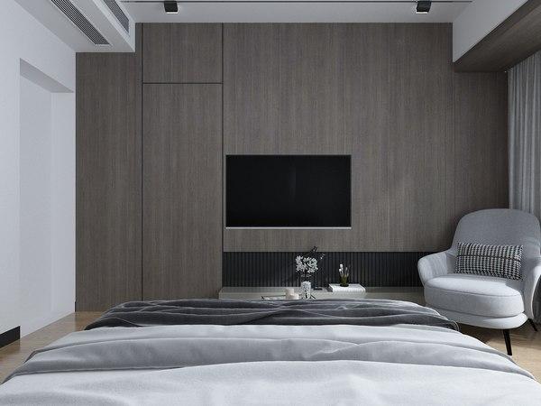 3D bedroom 4500x3500