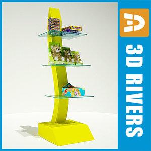 display rack goods max