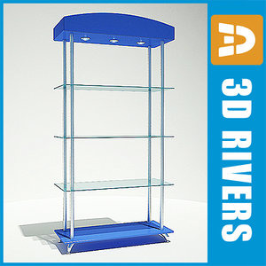 3d display shelf