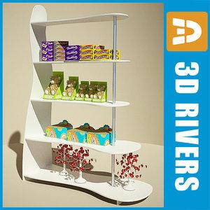 bend display shelf max