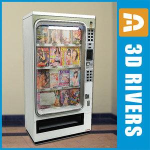 3d magazine vending machine
