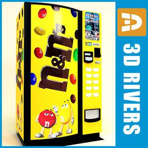 3d model m vending machine