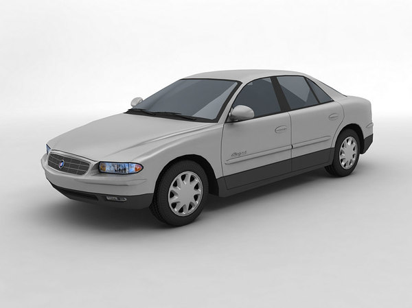 2000 buick regal sedan 3D model