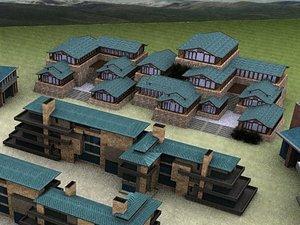 place domicile house 3d max