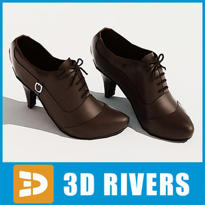 3ds woman women leather shoes