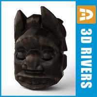 maya african mask africa