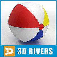 Beach ball 02 by 3DRivers