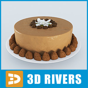 3d model cake bake 3dr114