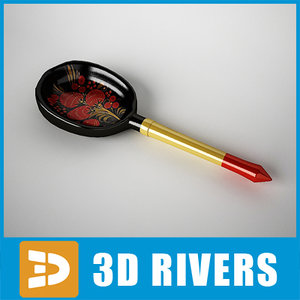 3ds max russian spoon