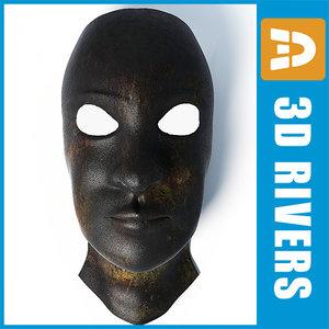 3d masonic mask